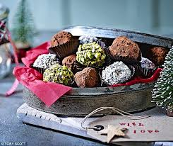 make your own gourmet gifts chocolate truffles