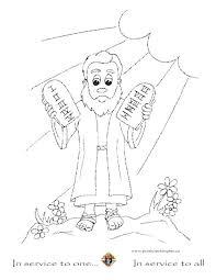 Free Printable Ten Commandments Coloring Pages At Getdrawingscom