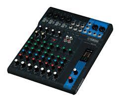 yamaha mixer. yamaha mg10 compact analog mixing console mixer 5