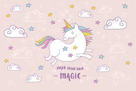 Cute Pink Unicorn Wallpapers - Top Free ...