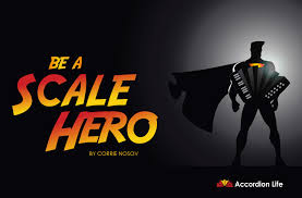 Be A Scale Hero Major Scales For Bass Treble