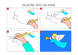 Apprendre Dessiner Un Ange En 3 Tapes