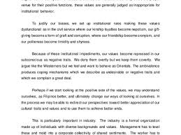 values essay army values essay respect org essays about filipino values