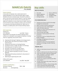 Engineering Skills Resume 54 Engineering Resume Templates Free Premium Templates