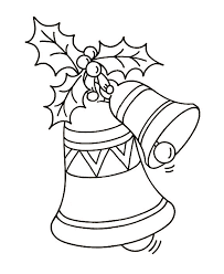 Small Picture Christmas Bells Coloring Pages Coloring Home