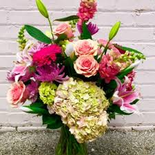 florist in tulsa flower delivery a striking mixture of fresh flowers including the stargazer lily