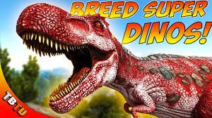 How To Breed Super Dinos Ark Stat Mutations Explained Ark Survival Evolved Breeding Tutorial