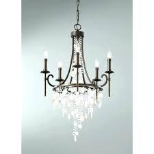 chandeliers home depot chandeliers bronze bay 5 light oil rubbed bronze chandelier with hanging crystals