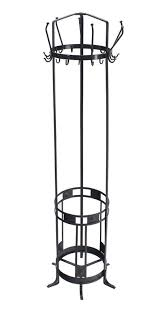 Black Wrought Iron Coat Rack Wrought Iron Coat Rack Umbrella Stand For Sale at 100stdibs 78