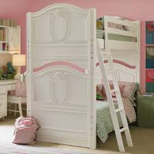 girls white bunk beds. Fine Beds Unique Girls Bunk Beds For Your Kids  Modern Girl White  Desk Pink Inside