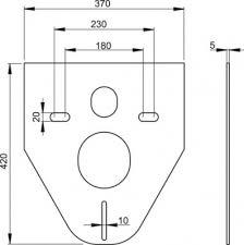 <b>Звукоизоляционная прокладка для подвесного</b> унитаза и биде