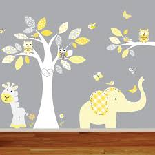 nursery wall decals elephant