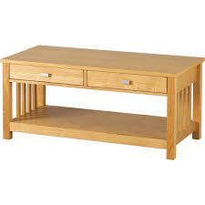 ashmore 2 drawer coffee table in ash