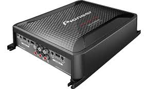 pioneer gm d8604 4 channel car amplifier 100 watts rms x 4 at pioneer gm d8604 front