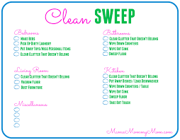 Daily Chores Checklist Free Daily Cleaning Checklist Printable