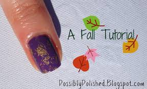 Possibly Polished: Tips On Tuesday: Fall Nail Art Tutorial