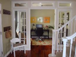 dining room and office. great idea turned unused dining room into beautiful home office love those french doors and g