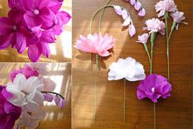 Paper Flower Craft Ideas Tissue Paper Craft Idea Stunningly Realistic Tissue Paper