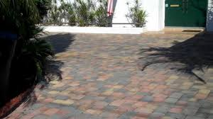 patio pavers over concrete. THIN PAVERS OVER CONCRETE DRIVEWAY VS THICK BRICK TAMPA BAY 813 299 9907 - YouTube Patio Pavers Over Concrete E