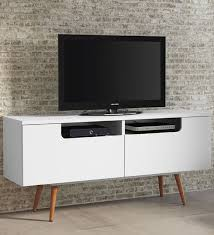 modern white tv console. Brilliant Modern Modern White TV Console Image Intended Tv OrganizeIt