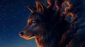 74 Wolf Art Wallpapers On Wallpaperplay