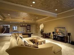 lighting ideas ceiling basement media room. 21 Stunning Modern Basement Designs Lighting Ideas Ceiling Media Room