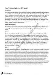 Gattaca essay vce