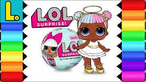 Coloring And Drawing Lol Surprise Doll Sugar Printable Coloring