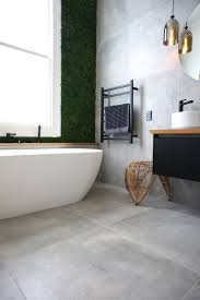 Ergonomic Large Grey Bathroom Tiles B&q Cat Jeremys Main Bathroom Grey  Porcelain Floor Tiles B&q