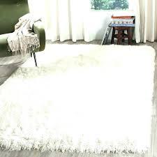 white rug 5x7 white fuzzy rug area rugs grey rug gray area rug white