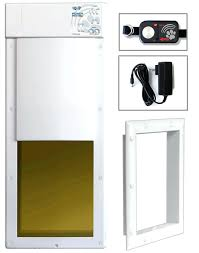 automatic doggie door high tech electronic motorized dog doors can be installed in doors or walls automatic doggie door