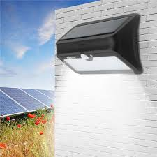 Solar Powered Outdoor Lights Uk Arilux Al Sl 13 46 Led Solar Powered Pir Motion Sensor Wall Light Waterproof Security Outdoor Lamp