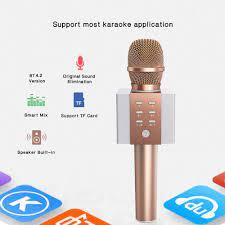TOSING 008 kablosuz Karaoke mikrofon Bluetooth Hoparlör 2-içinde-1 el şarkı  kayıt Portable - online alışveriş sitesi Joom'da ucuza alışveriş yapın