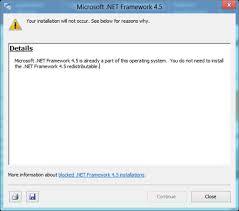 net framework 4 5 offline installer