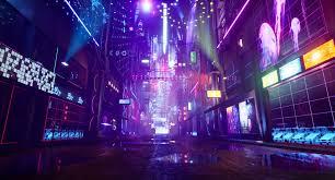 Cyberpunk city ...