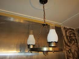 an electric chandelier inside the speakeasy err vault i mean