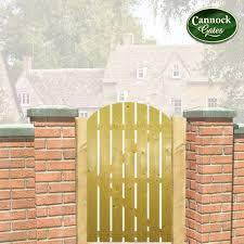 dorset arch top timber garden gate 4ft