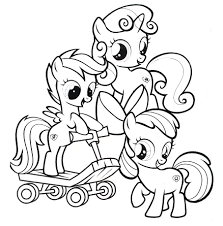 Cutie Mark Crusaders My Little Pony