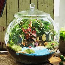 micro landscape glass bottle