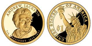 Dollar Coin Value Chart Andrew Jackson One Dollar Coin Value