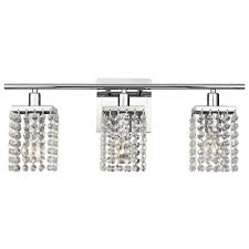 ashford classics lighting 3 light crystal bathroom vanity light 2276 26 hover or to zoom