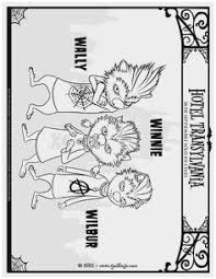 Hotel Transylvania Coloring Pages Pretty Kids N Fun Coloring Pages