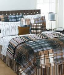 The Bentley Plaid Comforter Set &  Adamdwight.com