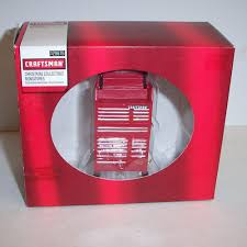 Christmas Decorations Sears Sears Craftsman Tool Chest Collectible Miniature Christmas