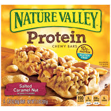 nature valley chewy granola bar protein gluten free salted caramel nut 5