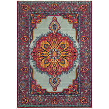 sphinx oriental weavers area rugs bohemian rugs 3339m traditional blue medallion rugs rugs by pattern free at powererusa com