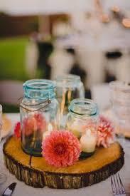 Blue Mason Jars Wedding Decor 100 Ways To Incorporate Mason Jars Into Your Wedding Blue mason 33