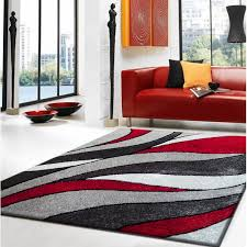 red black and grey area nice black and red area black accent rug red area on