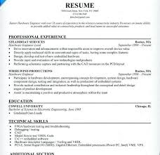 sample resume for software engineer experienced sample resume