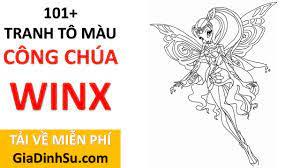 MIỄN PHÍ] file in 101+ tranh tô màu công chúa Winx cho bé - Công chúa Phép  thuật- tại Giadinhsu.com - YouTube